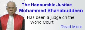 The Honourable Justice Mohammed Shahabuddeen